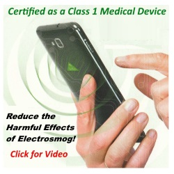 Protect yourself from Electrosmog with our innovative BioZen chip.  Amazing technology. Simple to apply.